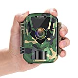 "Upgrade- TOGUARD Mini Trail Camera 16MP 1080P Game Camera 2"" LCD Small Hunting Trap Camera with IR..."