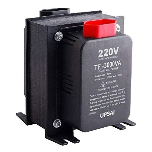 Auto Transformador de Voltagem Conversor 3000va Automático Bivolt 110v / 220v ou 220v / 110v Upsai 51000300
