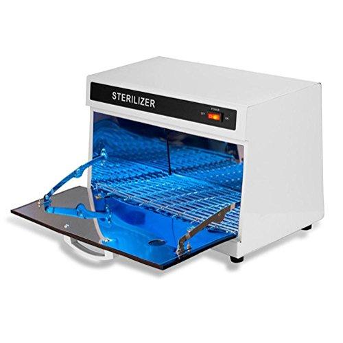 Esterilizador uñas UV Esterilizador Gabinete Salón Profesional Mesa Ultravioleta Desinfectante Caja Belleza & Barbero UV Desinfectante Esterilizador