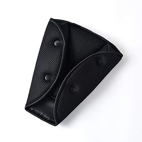 JMAHM Auto Sicherheitsgurt Dreieck Retainer Pads Schulterabdeckung Weiche Sicherheitsgurt Kissen Anti Hals für Kinder Schützen Schulter