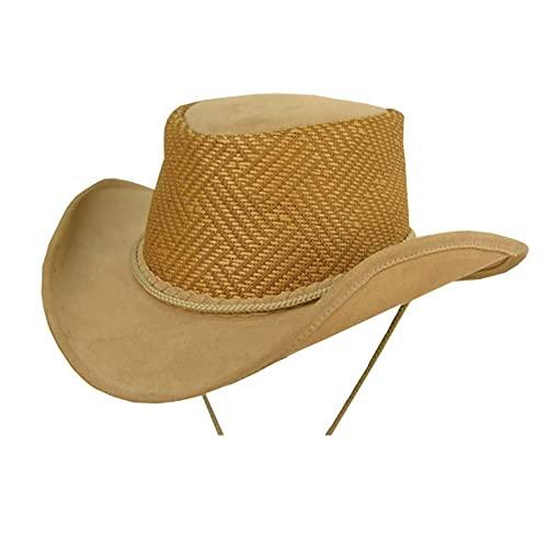 Kakadu Autralia Melaleuca, Microfibre Western Hat, shapeable Brim