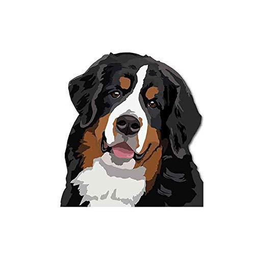 GQQ Auto Sticker 13Cm X 12.1Cm Rottweiler Hond Auto Stickers Vinyl Air Conditioner Fijne Decal Auto Accessoires Grafische 3D Auto Stickers Stijl a