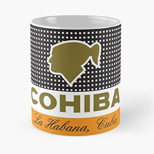 Cohiba Smoke Havana Cuba Tobacco Mug Coffee Mugs For Gifts Cup Women - Best 11 oz Kaffee-Becher - Tasse Kaffee Motive