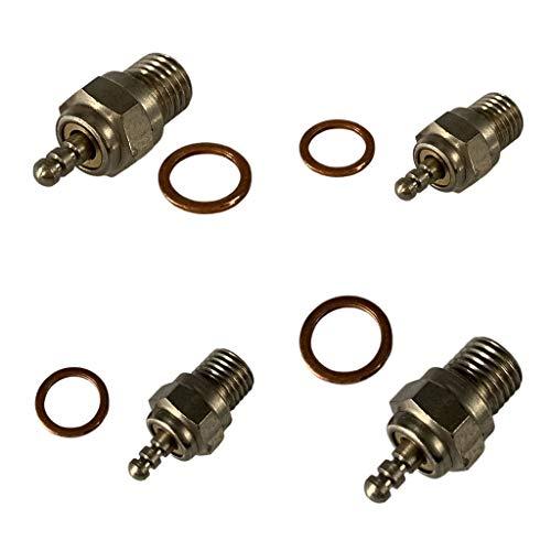 lahomia 4 Piezas de Motor Nitro Universales 70117 Bujías Incandescentes para