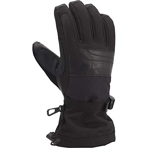 Carhartt Men's Vintage Cold Snap Insulated Work Glove, Black, Large