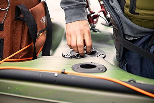 Pelican Kayak BASSCREEK 100XP Sit-On-Top Fishing Kayak Kayak 10 Feet Lightweight One Person Kayak Perfect for Fishing
