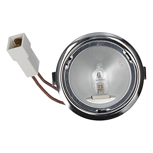 Whirlpool Bauknecht 481913448538 C00311730 ORIGINAL Halogenlampe Lampe Lampenfassung Fassung Stiftsockelleuchten G4 20W Gehäuse Dunstabzugshaube Abzugshaube auch Ikea Ignis Indesit Privileg Quelle
