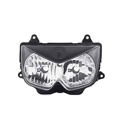 H2Racing Fari Anteriori Head Light Headlamp per Kawasaki Z1000 ZR1000A 2003-2006