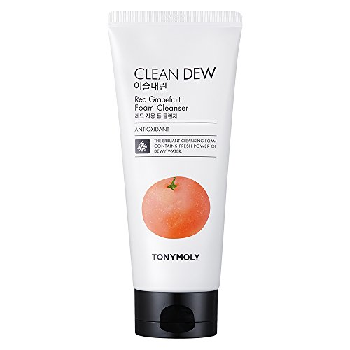 TonyMoly Clean Dew Foam Cleanser (Grapefruit)