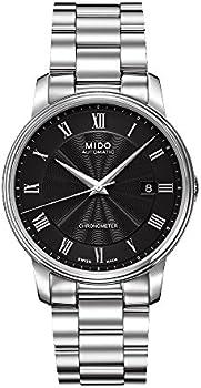 Mido Baroncelli III Chronometer Automatic Black Dial Men's Watch
