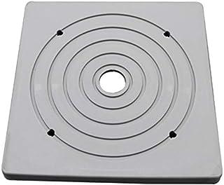 樹脂製ベースカバー:140角用 50枚セット(ラバーベース:Gベース) AR-2251 傷防止用敷板、ジャッキベース、固定ベース、回転ベース等のカバー