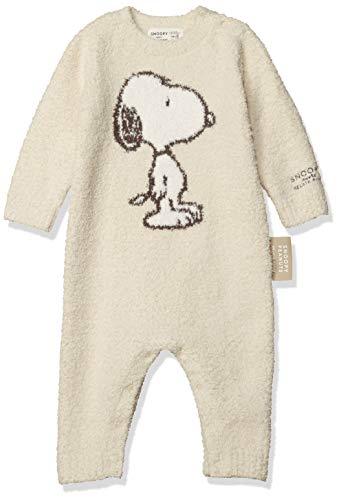 マッシュスタイルラボ gelato pique(ジェラート ピケ)『【BABY】【PEANUTS】'ベビモコ'ジャガード baby ロンパース』