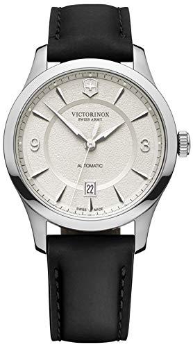 Victorinox Alliance Reloj para Hombre Analógico de Automático con Brazalete de Piel de Vaca V241871