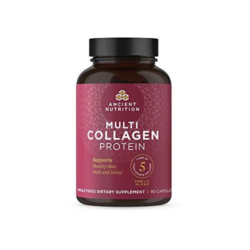 Multi Collagen Capsules, Collagen Types I, II, II,...