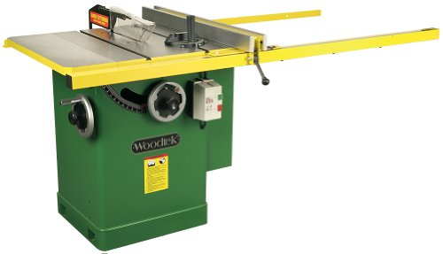 Woodtek 159356, Machinery, Table Saws, 10' Left Tilt Table Saw 3hp, 1ph 50' Fence