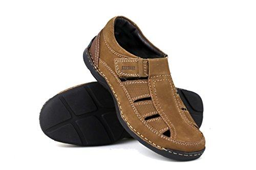 Zerimar Lederen Sandalen voor Wandelen | Sandalen Outdoor | Wandelen Sandalen | Sandalen Wandelen | Sandalen om te wandelen | Comfy Walking Sandals