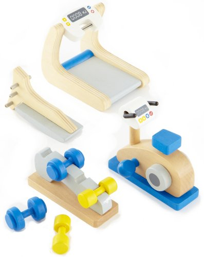 Hape E3458 - Fitnessstudio