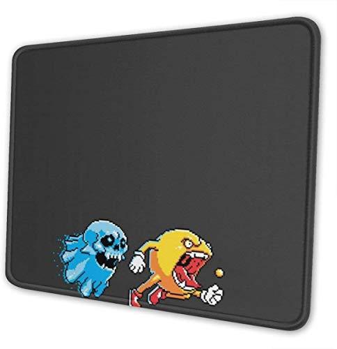 Shazam Pikachu Gaming-Mauspad mit genähten Kanten Computermausmatte rutschfeste Gummibasis für Laptop-PC 12 x 10 x 0,12 Zoll