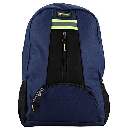 DFGH Werkzeuge Rucksack, Oxford Tuch Stoff Werkzeuge Rucksack Wear-Resistant Tasche Für Elektriker Klempner Reparaturmann (blau)