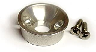 Electrosocket Jack Plate for Telecasters® - Polished Nickel Finish
