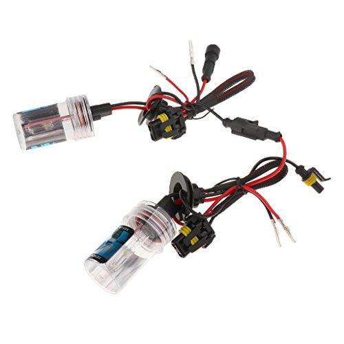 MagiDeal 2X H11 HID 12V 35W Phare Xénon Lampe Lumiere Ampoule de Voiture - 10000K