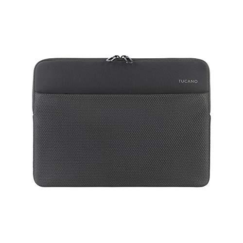 Tucano - Neotex Sleeve, Neopren-Schutzhülle für Laptop 14 Zoll, Fronttasche, Anti-Slip System gegen versehentliches Fallenlassen