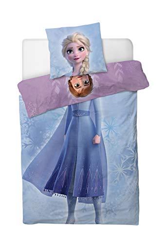 Disney Frozen Duvet Cover With Pillowcase 160x200 +70x80 CM Cotton