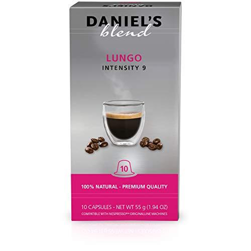 DANIELS BLEND - 100 Cápsulas de Café Compatibles con Má