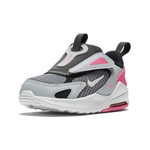Nike Air MAX Bolt, Zapatillas Unisex niños, Smoke Grey Metallic Silver Football...