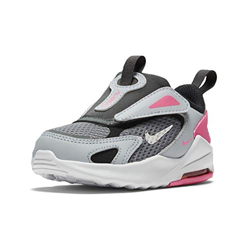 Nike Air MAX Bolt, Zapatillas Unisex niños, Smoke Grey Metallic Silver Football Grey, 25 EU