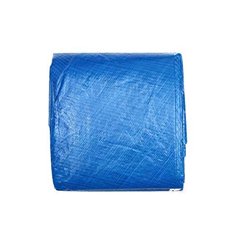 MOSINITTY - Funda para piscina, redonda, inflable, fácil de instalar, antipolvo, evita la evaporación, resistente a la lluvia, 183 cm, 183 cm.
