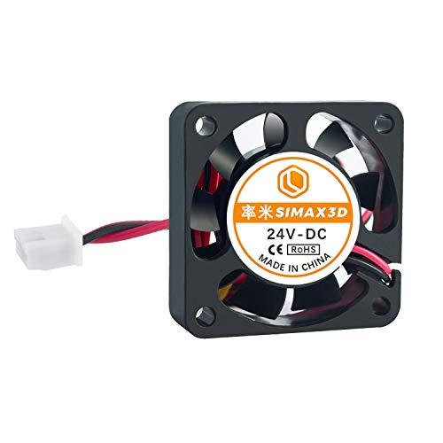 ILS - Ventilador de refrigeración (8 unidades, 24 V, 0,08 A, 4010, 40 x 40 mm, con cable de 1 m)