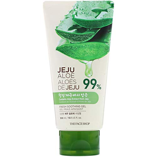 THEFACESHOP Fresh Jeju Aloe Soothing Gel Tube
