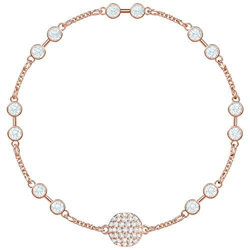 Swarovski Damen-Armreifen Edelstahl Kristall 5451032