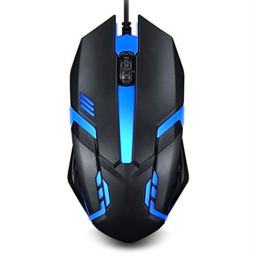 Gaming Mouse Wired, 16.8million Chroma RGB Backlit, 2400 DPI Comfortable Grip Ergonomic Optical PC Computer Gaming Mice(Upgraded Version)