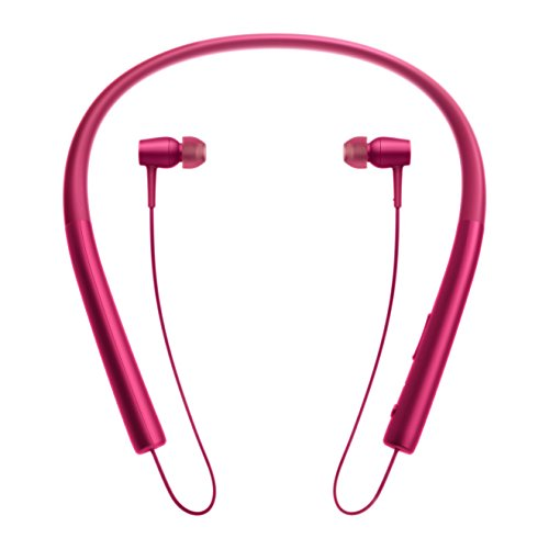 Sony MDR-EX750BT kabelloser High Resolution In-Ohr Kopfhörer (Bluetooth, Head-Set Funktion) bordeaux-pink