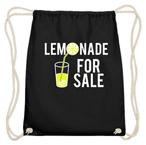 Lemonade For Sale - limonade te verkopen dames heren - eenvoudig en grappig design - katoen gymsac
