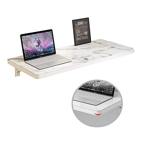 XHCP Klappbarer Wandtisch Glaspaneele auf Holzbasis Wandtisch Küche Esstisch Computertisch Maximale Belastung 50 kg