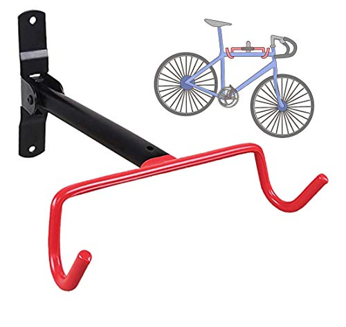 Occoyo Wall Mounted Indoor Bike Storage Rack - Perfect for Road, Mountain, Women's, Kid's, Electric, and Fat tire Bikes!