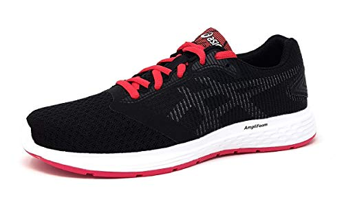Asics Patriot 10, Zapatillas de Running para Mujer, Negro (Black/Pixel Pink 001), 35.5 EU