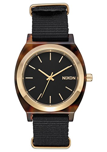 Nixon Unisex The Time Teller Acetate X The Mash Up Collection Tortoise/Black One Size