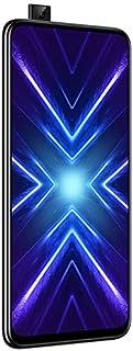 هاتف اونر 9 اكس ثنائي شرائح الاتصال - 128 جيجا بايت، 6 جيجا رام، تقنية اتصال الجيل الرابع ال تي اي