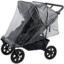 Valco Baby Raincover for Snap Duo Trend, Neo Twin and Duo X Double Strollers