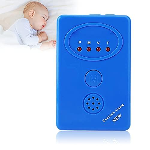 Sensor de alarma de Enuresis para enuresis, 3 en 1 Sensor de alarma de Enuresis multimodal Tratamiento eficaz Sistema de mojado Seguridad