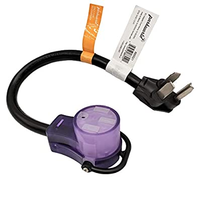 Parkworld 885521 EV Adapter Cord NEMA 10-30P to 14-50R (ONLY for Tesla UMC or Other EV Charging, NOT for RV)