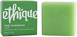 Ethique Eco-Friendly Solid Conditioner Bar for Normal-Dry Hair, Guardian - Sustainable Natural Conditioner, Plastic Free, 100% Soap Free, Vegan, Plant Based, 100% Compostable and Zero Waste, 2.12oz