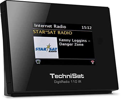 TechniSat Digitradio 110 Internetradio Adapter / DAB+ Digitalradio Adapter (WLAN, Spotify Connect, Bluetooth, Fernbedienung, Wecker, optimal zur Aufrüstung bestehender HiFi-Anlagen) schwarz