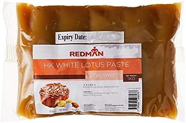 RedMan White Lotus Mooncake Paste-Less Sweet, 1Kg