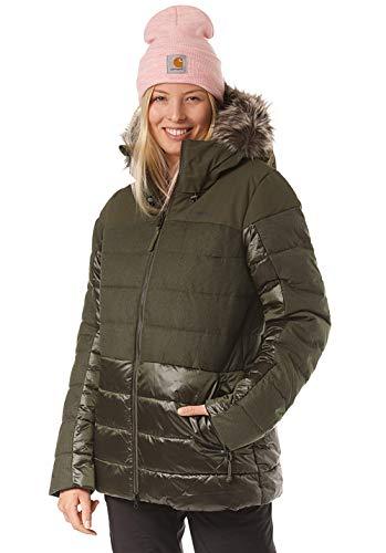 O'Neill Damen Snowboard Jacke Hybrid Finesse Jacket, Forest Night, M
