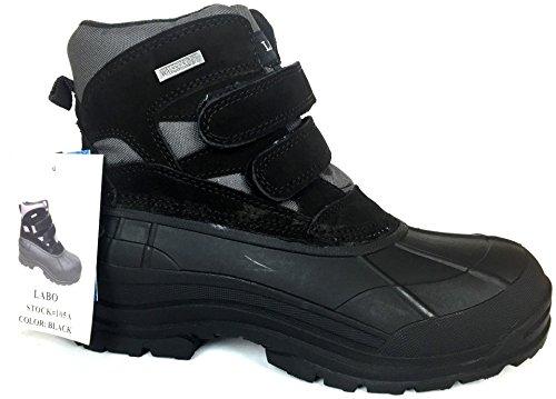 LABO 6' Duck Snow Boot Black Color Size 105A- 10.5